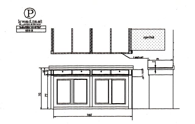 Antiek keukenblok, te laag, ontwerp verhoging